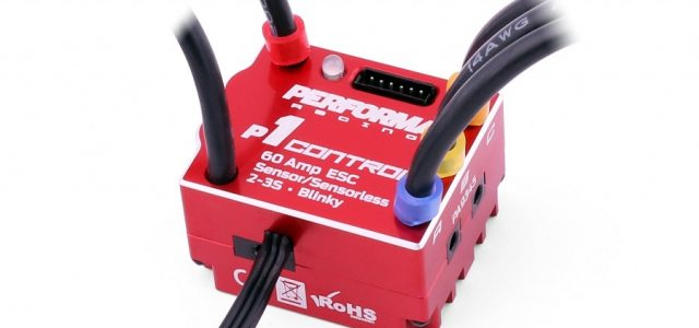 Performa P1 Controller 60 A Sensor/Sensorless, 2-3S Blinky ESC