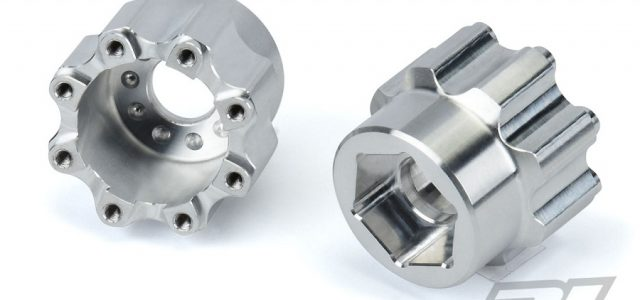 Pro-Line 8×32 to 20mm Aluminum Hex Adapters