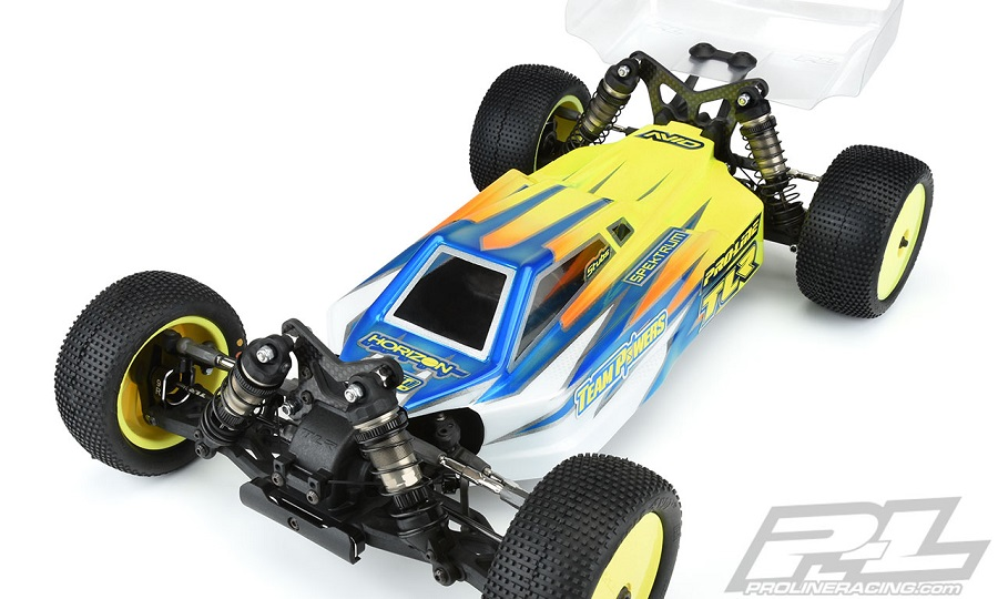 Pro-Line Axis Light Weight Clear Body For The TLR 22X-4