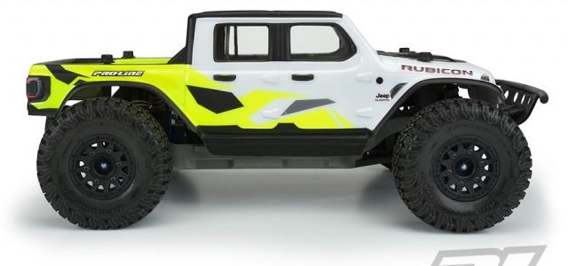 Pro-Line Jeep Gladiator Rubicon Clear Body [VIDEO]