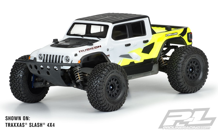 Pro-Line Jeep Gladiator Rubicon Clear Body