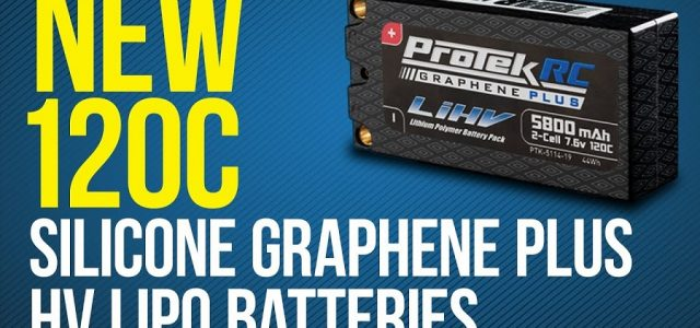 ProTek R/C 120C Graphene PLUS HV LiPo Batteries & LiHV Receiver Packs [VIDEO]