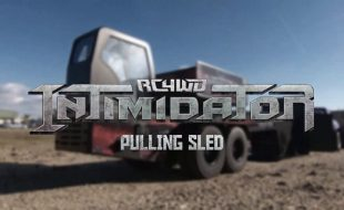 RC4WD Intimidator Pulling Sled [VIDEO]