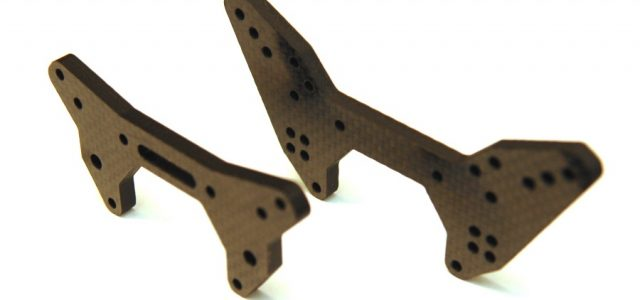 STRC 5mm Graphite Front & Rear Shock Towers For The ARRMA Limitless/Infraction