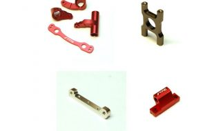 STRC Aluminum Option Parts For The ARRMA Limitless/Infraction & Outcast 6S