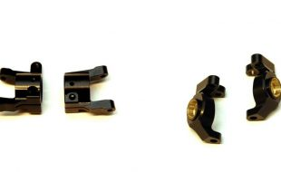 STRC Brass Steering Knuckles & C-Hubs For The Element Enduro