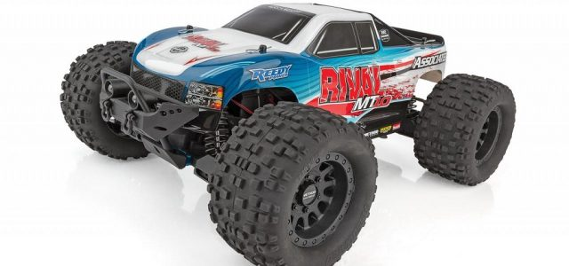 Team Associated RIVAL MT10 Off-Road 1/10 Monster Truck RTR [VIDEO]