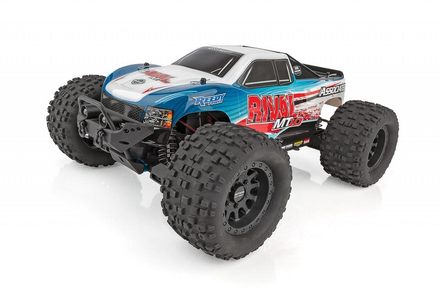 Team Associated RIVAL MT10 Off-Road 1/10 Monster Truck RTR