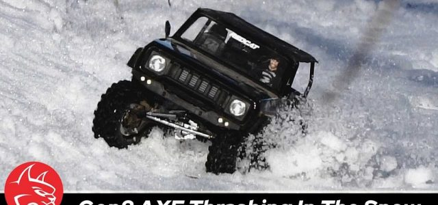 Thrashing Through The Snow With A Redcat International Scout II GEN8 Scout II AXE Edition [VIDEO]