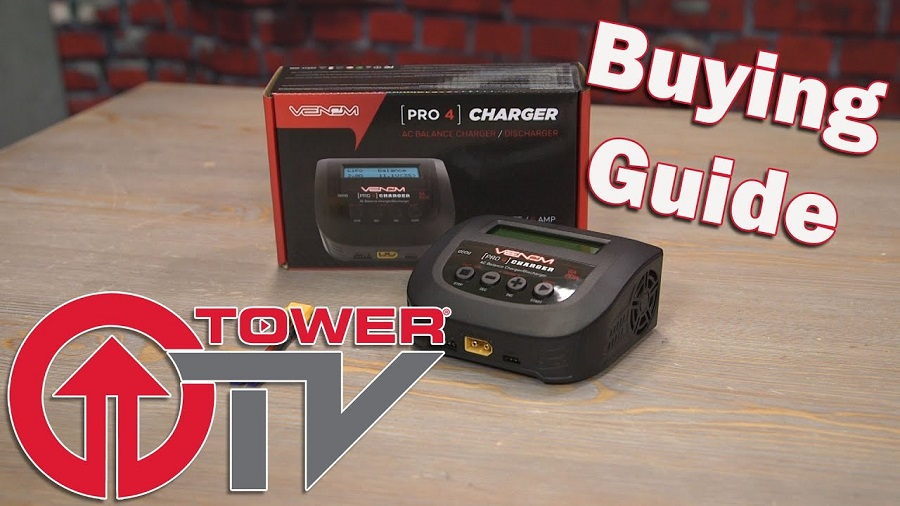 Tower TV Buying Guide Venom Pro 4 AC Balance ChargerDischarger