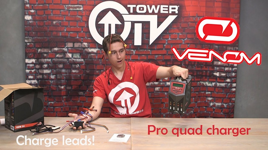 Tower TV Venom Pro Quad Charger