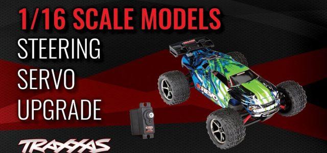 Traxxas 1/16 Scale Servo Upgrade [VIDEO]