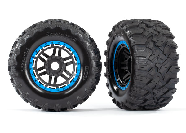 Traxxas Anodized Aluminum, Color Accent Wheels & Option Parts For The Maxx