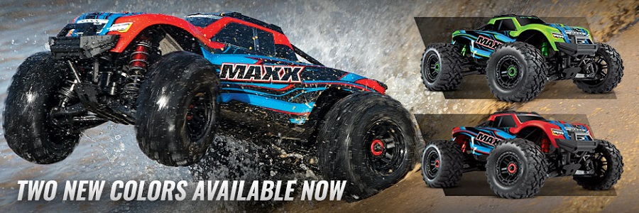 Traxxas Maxx Now Available In 2 New Colors