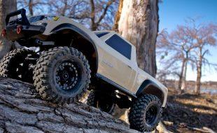 Traxxas TRX-4 Sport Desert Tan Scale Crawler [VIDEO]