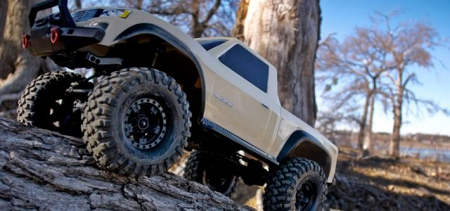 Traxxas TRX-4 Sport Desert Tan Scale Crawler [VIDEO]