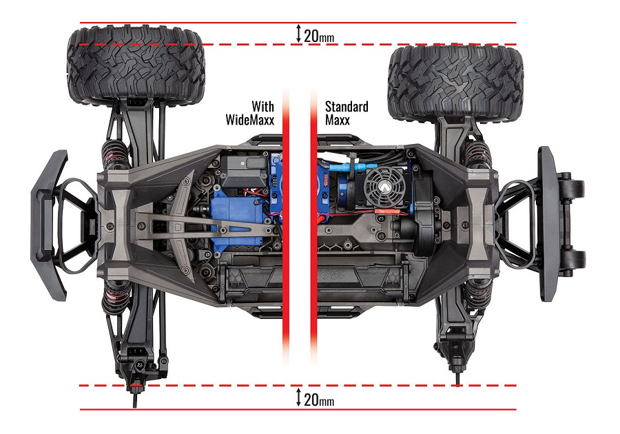 Traxxas WideMaxx Kit