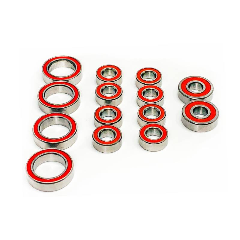 Trinity Certified Red Seal Ceramic Ball Bearing Set For The TLR 22 5.0 Elite