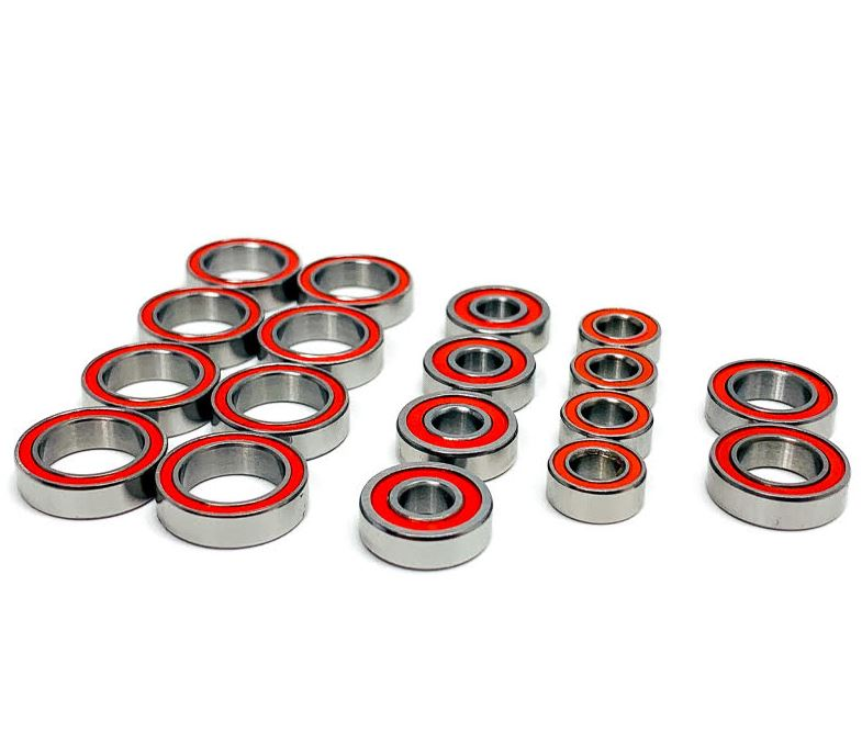 Trinity TLR 22X-4 Certified Red Seal Ceramic Ball Bearing Set