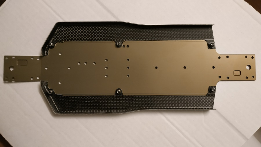 WB Carbon Fiber Side Guards For The B74