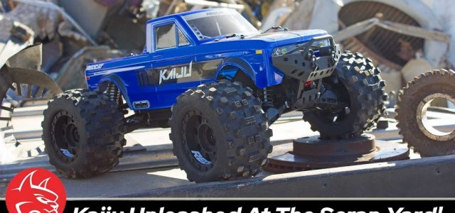 Big Air & Extreme Bashing At The Scrap Yard With The Redcat KAIJU Monster Truck [VIDEO]