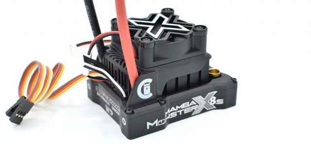 Castle Mamba Monster X 8S 33.6V ESC