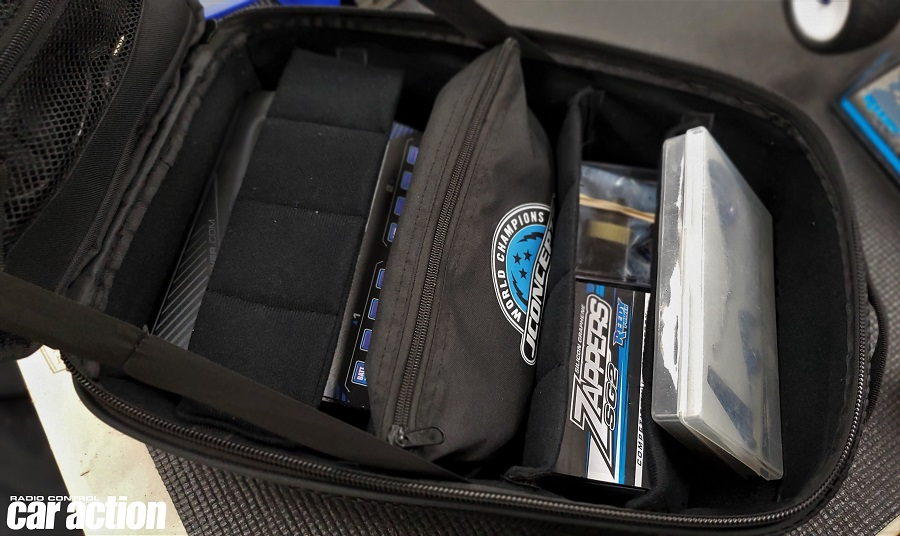 Sneak Peek: JConcepts Finish Line Charger Bag, SCT Ellipses, Scale & Travel Backpack
