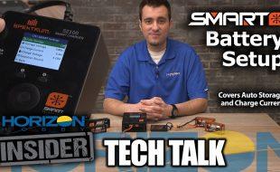 Horizon Insider Tech Talk: Spektrum Smart Battery Setup [VIDEO]