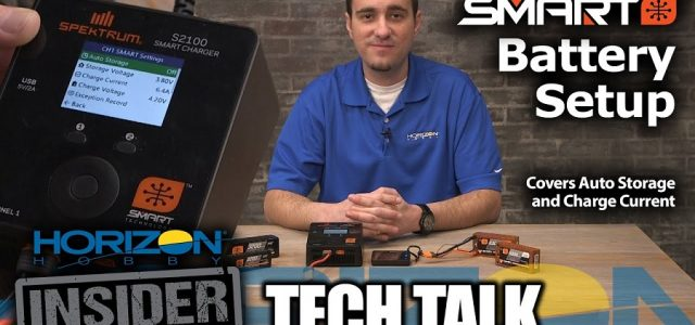Horizon Insider Tech Talk: Spektrum Smart Battery Setup [VIDEO]