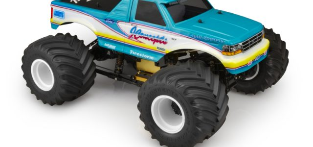 JConcepts 1993 Ford F-250 Clear Monster Truck Body