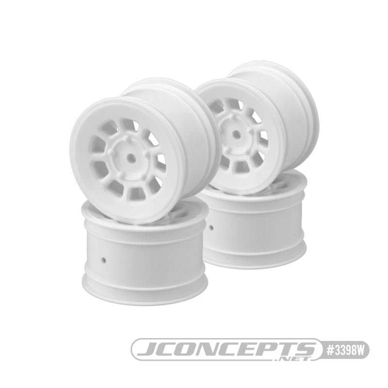 JConcepts 9 Shot 2WD Buggy Front & Rear Wheels