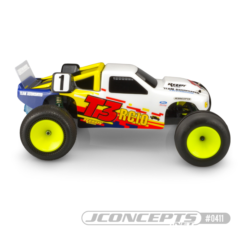 JConcepts Authentic Body For The Team Associated RC10T3