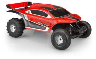 JConcepts BAJR V2 Sand Rail Clear Body For The Traxxas 2WD/4WD Slash
