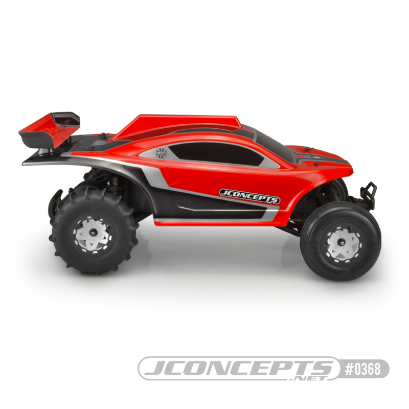 JConcepts BAJR V2 Sand Rail Clear Body For The Traxxas 2WD/4WD Slash