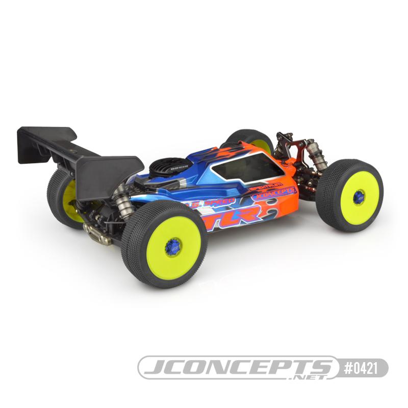 JConcepts P1 8ight-X Elite Clear Body