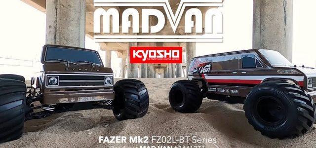 Kyosho Fazer Mk2 FZ02L-BT Series Mad Van [VIDEO]
