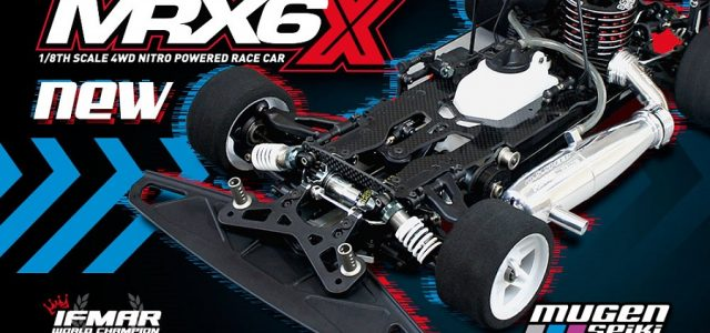 Mugen MRX6X 1/8 Nitro On-Road Kit