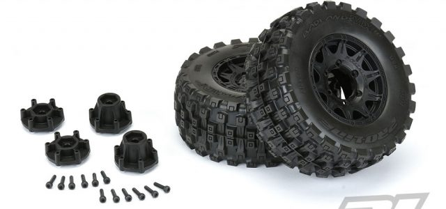 Pro-Line Badlands MX28 HP 2.8″ All Terrain BELTED Truck Tires Mounted [VIDEO]