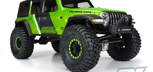 Pro-Line Jeep Wrangler JL Unlimited Rubicon Clear Body