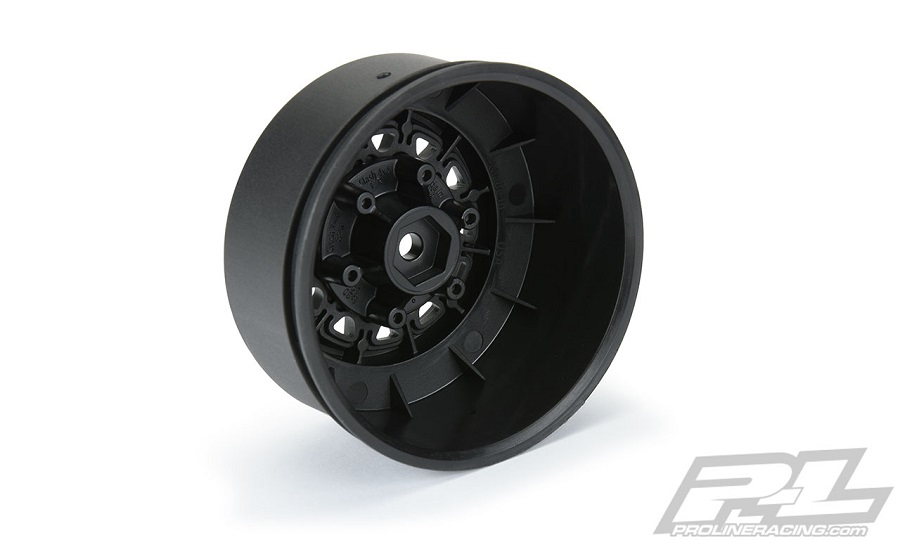 "Pro-Line Raid 2.2""/3.0"" Black 6x30 Removable Hex SC Wheels"
