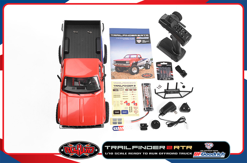 RC4WD BFGoodrich 150th Anniversary Edition Trail Finder 2 RTR