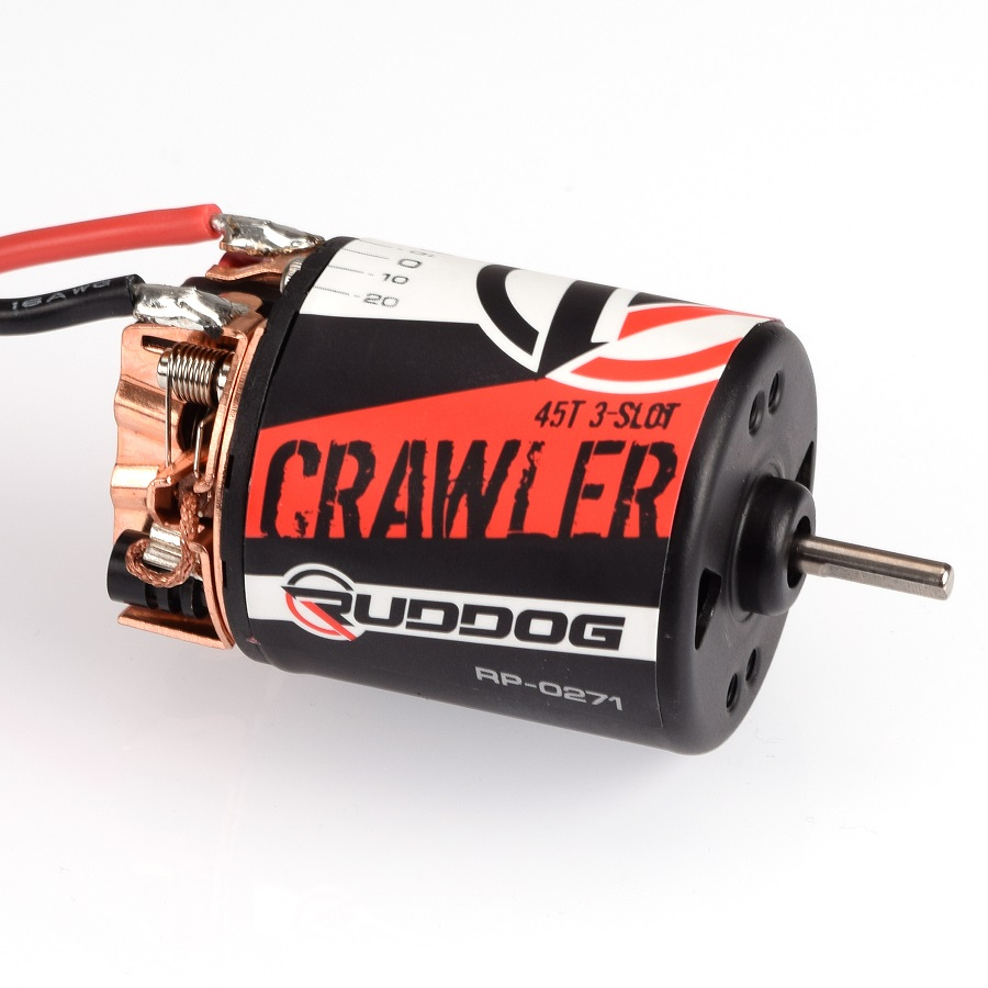 RUDDOG Crawler 5-Slot & 3-Slot Brushed Crawler Motors