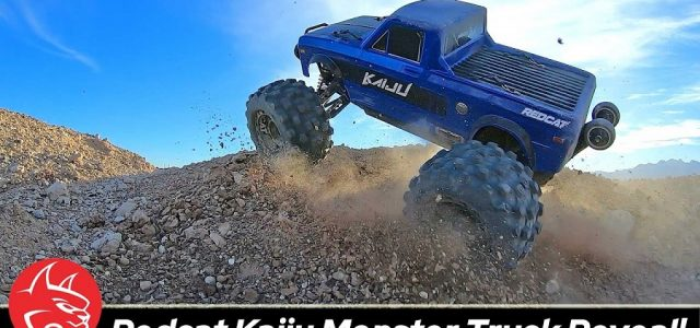 Redcat KAIJU 1/8 Brushless 6S Monster Truck Unleashed [VIDEO]