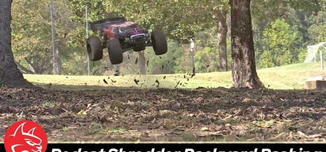 Redcat Shredder Backyard Bashing Session [VIDEO]