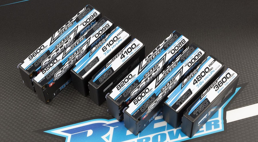 Reedy Zappers SG3 Competition 2S HV-LiPo Batteries