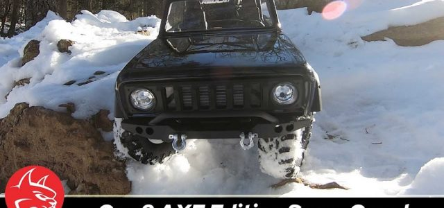 Snow Expedition With A Redcat International Scout II GEN8 Scout II AXE Edition [VIDEO]