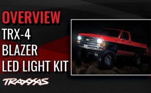Traxxas TRX-4 Blazer Light Kit Overview [VIDEO]