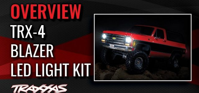 Traxxas TRX-4 Blazer Light Kit Overview [VIDEO]