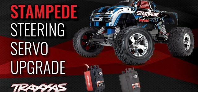Traxxas Stampede Servo Upgrade [VIDEO]