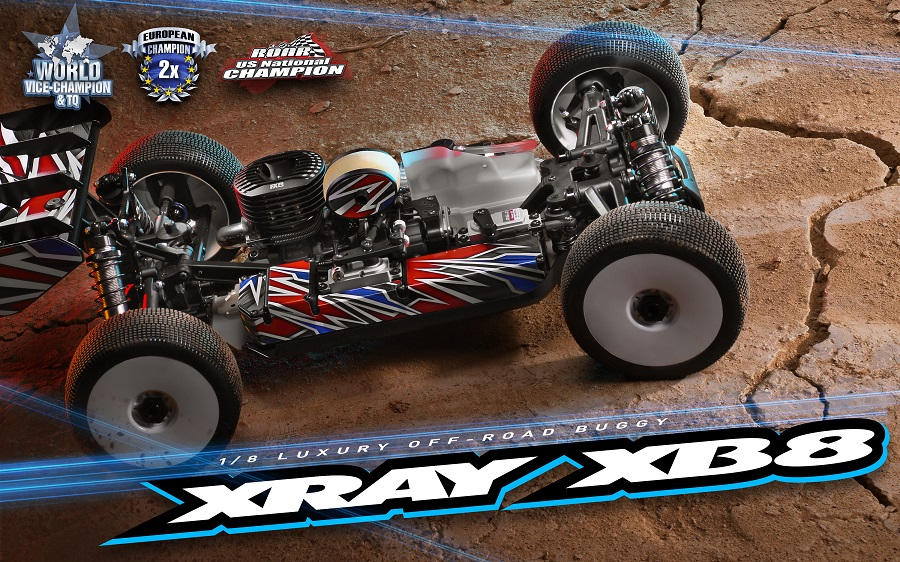XRAY 2020 XB8 1/8 Nitro Off-Road Buggy Kit
